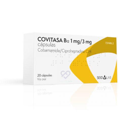Caja de Covitasa B12, 20 Cápsulas