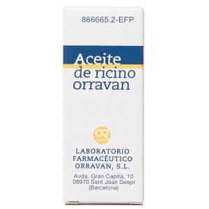 Aceite Ricino Orravan (Solución Oral 25 gr) | Laxante sin receta