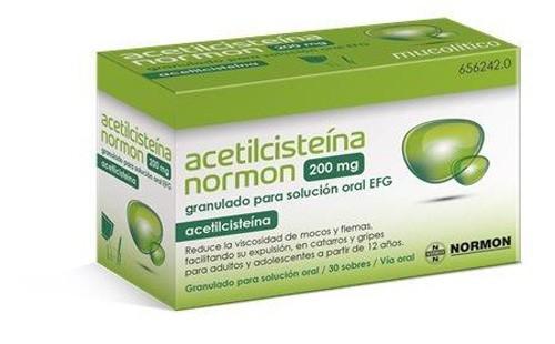 Acetilcisteina Normon EFG en Sobres