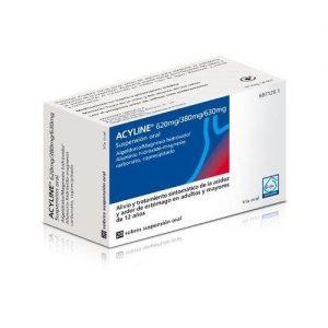 Acyline en Sobres Suspensión Oral