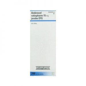Ambroxol Ratiopharm EFG en Jarabe
