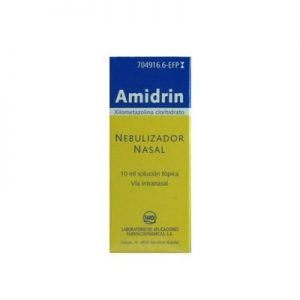 Amidrin en Nebulizador Nasal