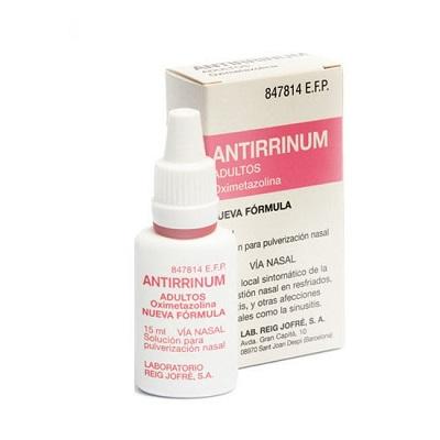 Antirrinum Adultos en Nebulizador Nasal