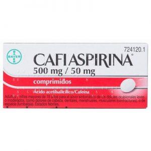 Cafiaspirina en Comprimidos