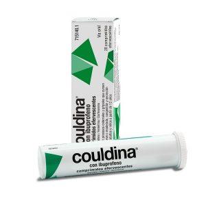 Couldina Con Ibuprofeno en Comprimidos Efervescentes