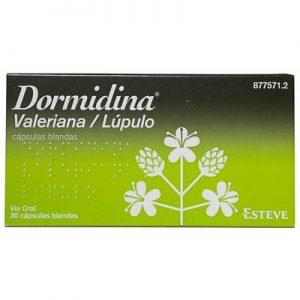 Dormidina Valeriana/Lupulo en Cápsulas