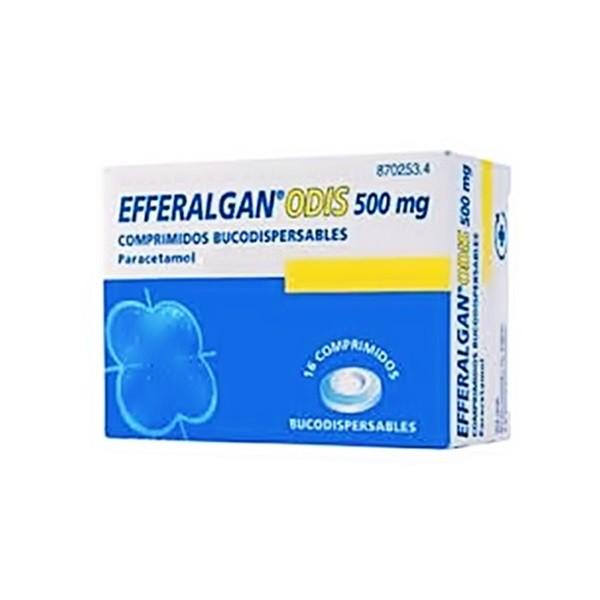 Efferalgan Odis en Comprimidos Bucodispersables