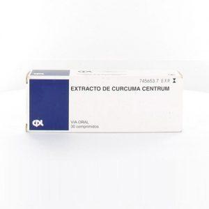 Extracto Curcuma Centrum en Comprimidos