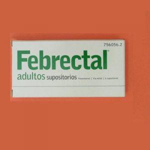 Febrectal Adultos en Supositorios
