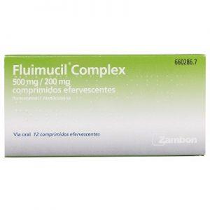 Fluimucil Complex en Comprimidos Efervescentes
