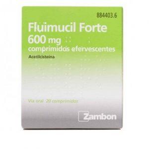 Fluimucil Forte en Comprimidos Efervescentes