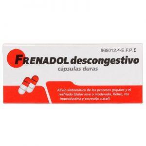 Frenadol Descongestivo en Cápsulas