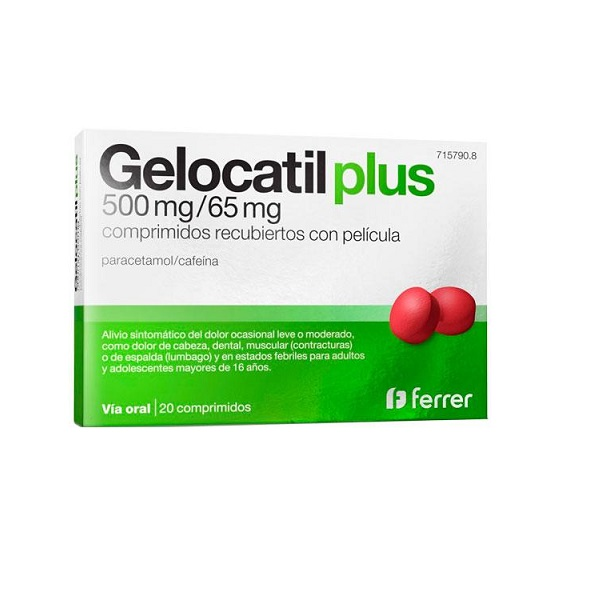 Gelocatil Plus en Comprimidos
