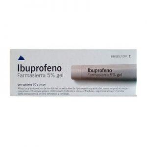 Ibuprofeno Farmasierra Tópico en Gel Tópico