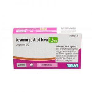 Levonorgestrel Teva EFG en Comprimidos