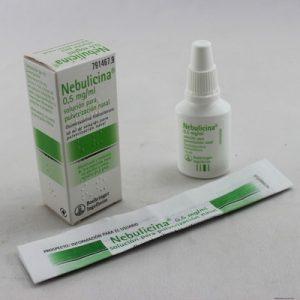 Nebulicina en Nebulizador Nasal