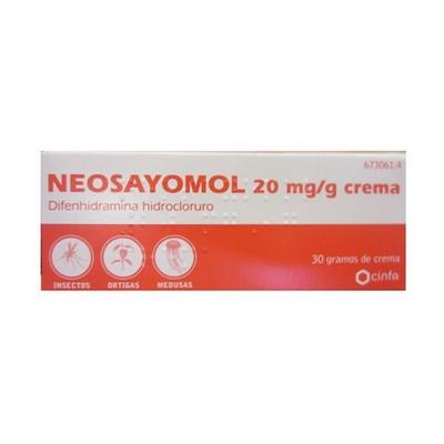 Neosayomol en Crema