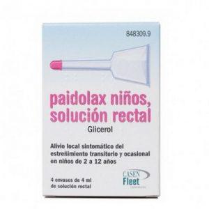 Paidolax en Solución Rectal