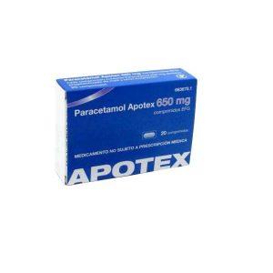 Paracetamol Apotex EFG en Comprimidos