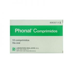 Phonal en Comprimidos Para Chupar