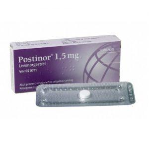 Postinor Elam Pharma en Comprimidos