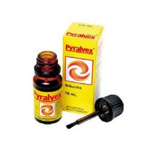 Pyralvex Gervasi en Solución Uso Tópico