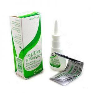 Respibien Antialergico en Nebulizador Nasal