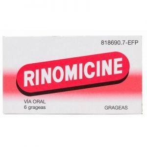 Rinomicine Grageas en Grageas