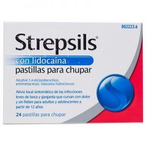 Strepsils Lidocaina en Pastillas Para Chupar