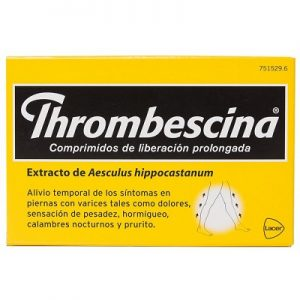Thrombescina en Comprimidos Lib Prolongada