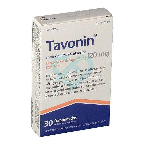 Comprar Tavonin 120 mg, 30 Comprimidos