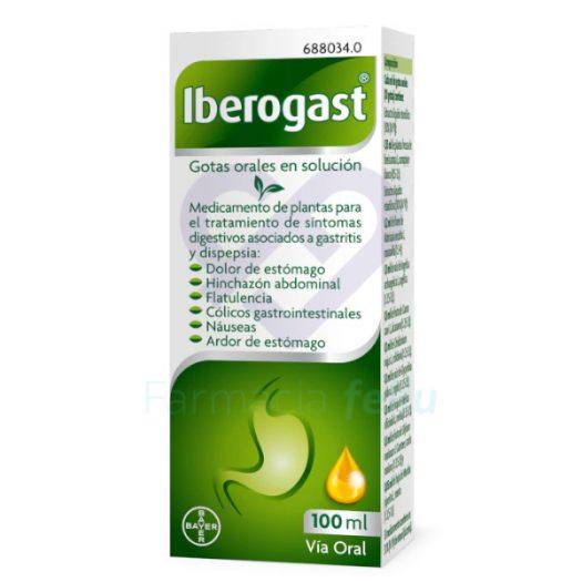 Caja de Iberogast Gotas Orales 100ml