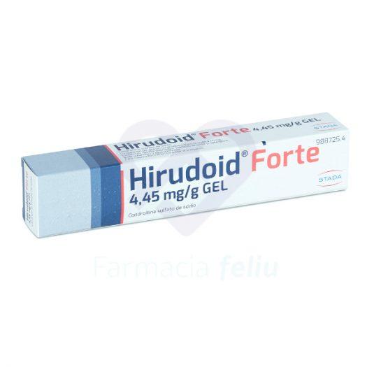 Hirudoid Forte 4,45 mg/g Gel Cutáneo, 60 gr